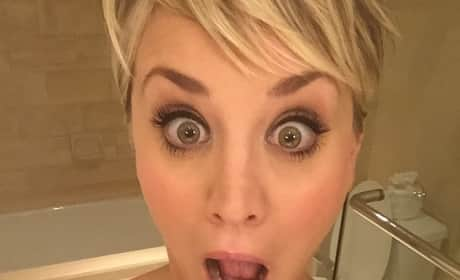Kaley Cuoco: Shocked!