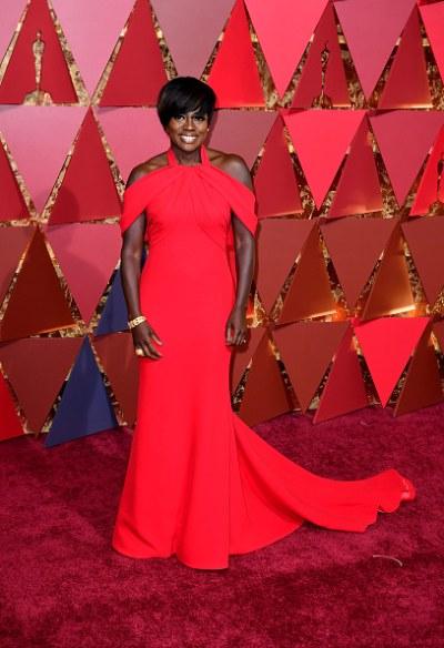 Viola Davis at 2017 Oscars