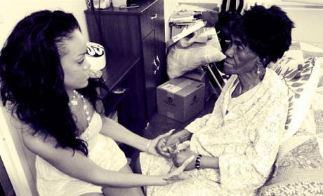 Rihanna, Grandmother