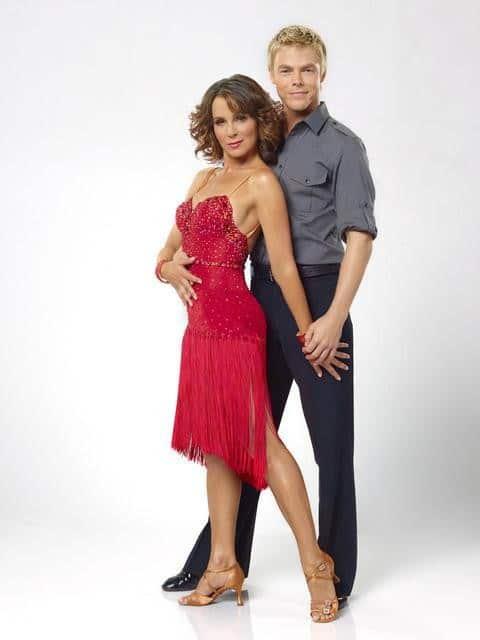 Jennifer Grey and Derek Hough