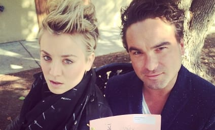 Kaley Cuoco: In LOVE With Johnny Galecki?!