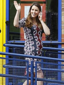 Kate Middleton Baby Bump Picture
