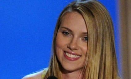 Scarlett Johansson Still Supporting Her Man