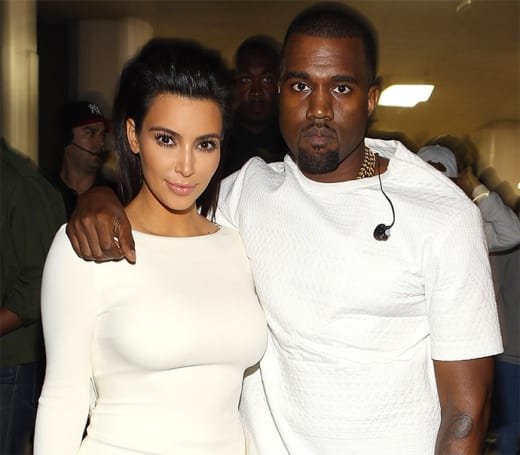 Kanye West: Freaking Out at Fashion Week?
