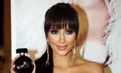 Kim Kardashian Shows Off New Bangs, Old Breasts