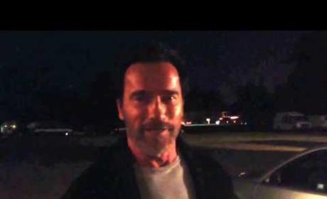 Arnold Schwarzenegger: It's Not a Tumor!