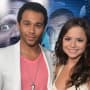 Sasha Clements and Corbin Bleu