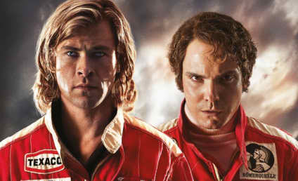 New Rush Posters: Chris Hemsworth's Pores Up Close!