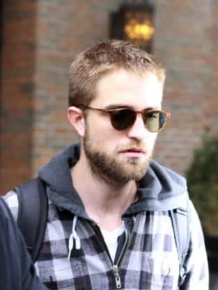 Scruffy Robert Pattinson