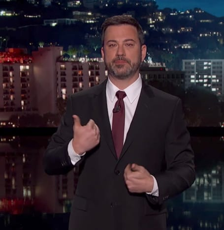 Jimmy Kimmel in Tears