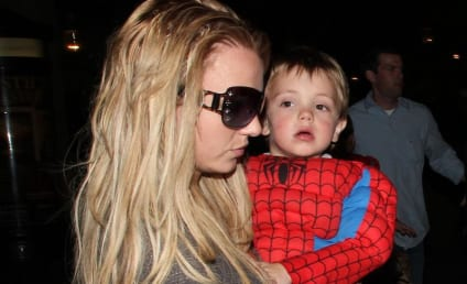 Britney Spears, Jayden James Go to the Movies