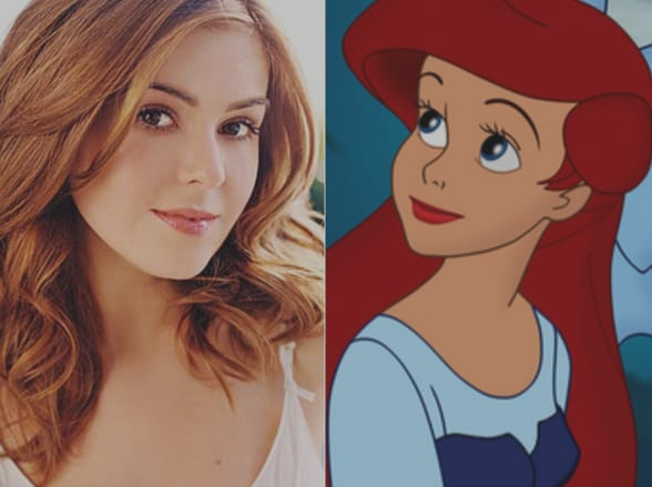 Isla Fisher & Ariel