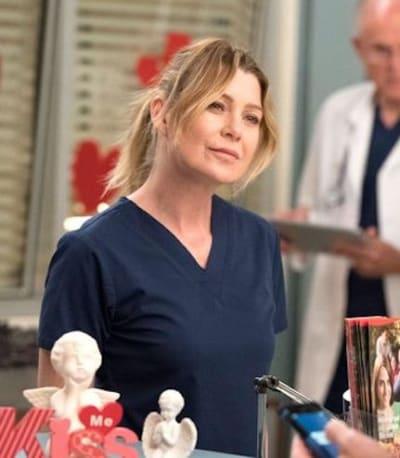 Ellen Pompeo in Scrubs