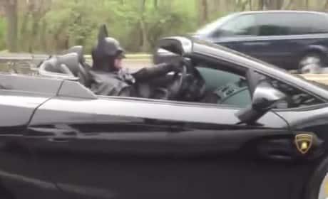 Maryland Batman in Action