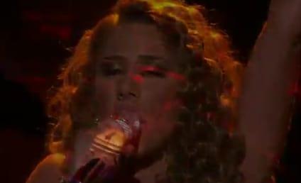Haley Reinhart Goes Gaga on American Idol