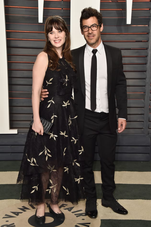 Zooey Deschanel and Jacob Pechenik Photo