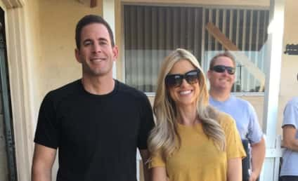 Tarek El Moussa Poses with Daughter, Gushes Over Christina