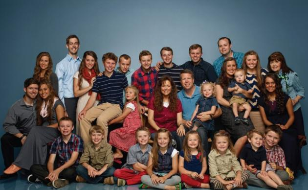 The Duggar Family Picture
