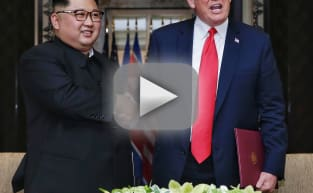 Trump Hypes Up North Korea Summit with Epic Propaganda Video Featuring Guy Dunking