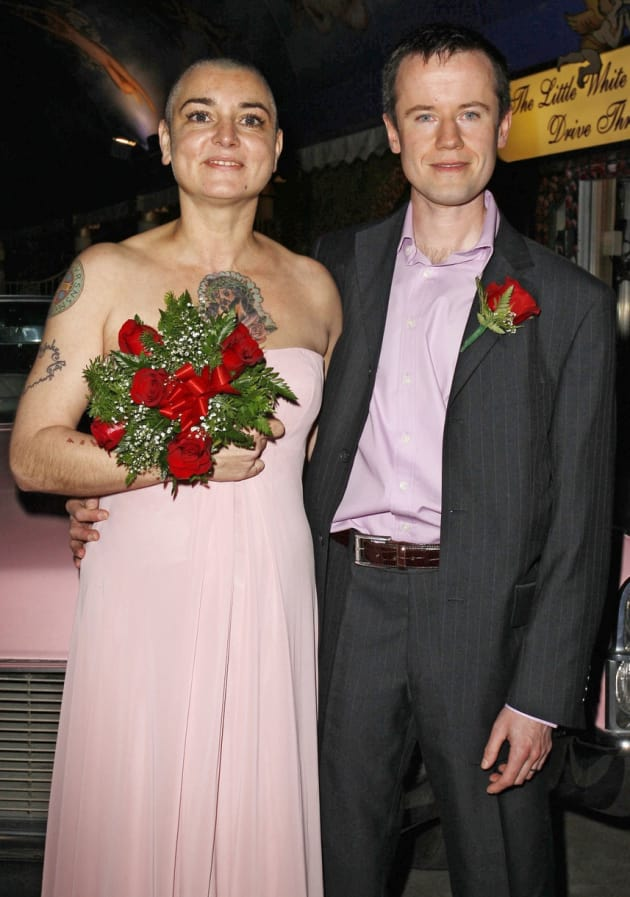 Sinead O'Connor and Husband