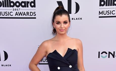 Rebecca Black Attends Billboard Music Awards