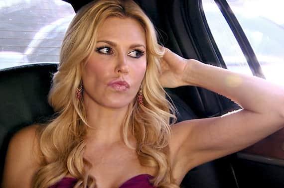 Brandi in the Car