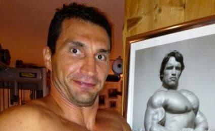 Arnold Schwarzenegger and Wladimir Klitschko: Shirtless Photo Swapping on Twitter!