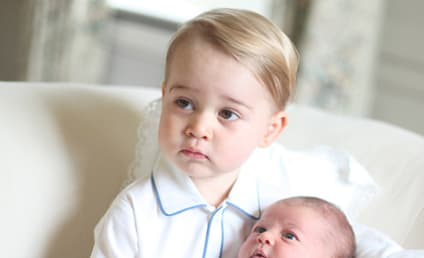 Princess Charlotte, Prince George Pose For Royally Cute New Photos!