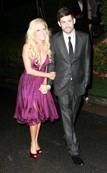 Bridget Marquardt and Nick Carpenter