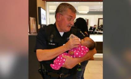 Photo of Cop Feeding Seizure-Stricken Mom's Baby Goes Viral