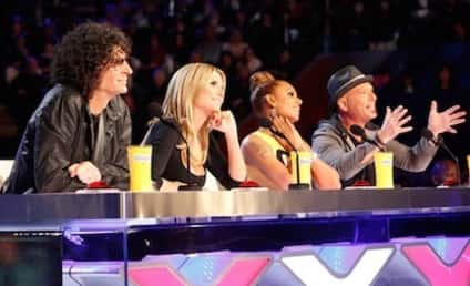 Mel B: Booed at First America's Got Talent Taping