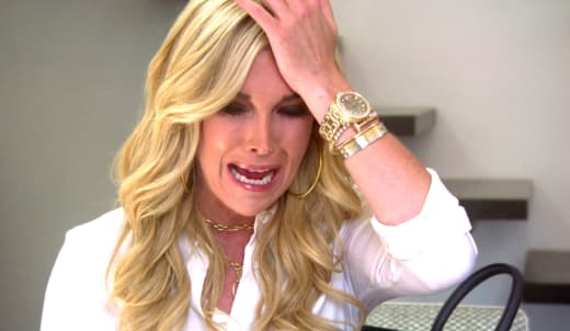 Tinsley Mortimer Cries
