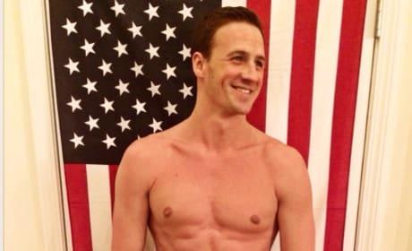 Ryan Lochte Poses