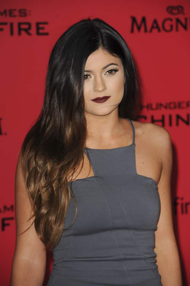 Kylie Jenner at Catching Fire Premiere