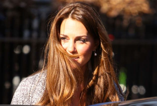 Duchess Kate Hair