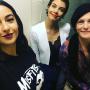 Alanna Masterson, Lauren Cohan, and Melissa McBride