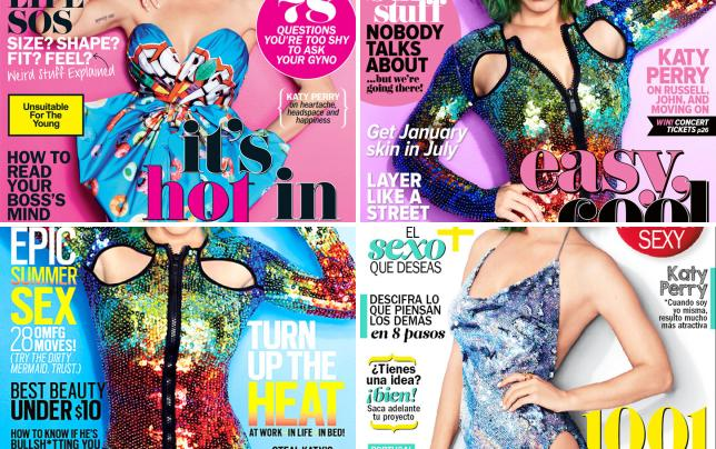 Katy perry cosmo cover 2014