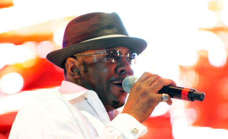 Bobby Brown on Stage