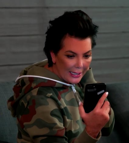 Kris Jenner Breaks Down