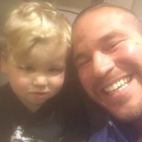 Nathan Griffith With Kaiser