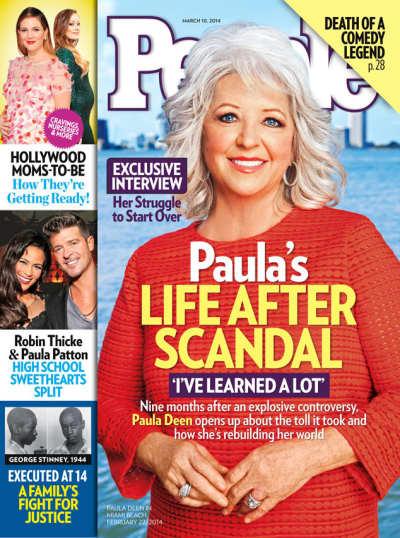Paula Deen People Cover