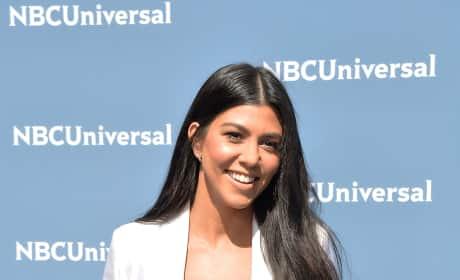 Kourtney Kardashian at the Upfronts