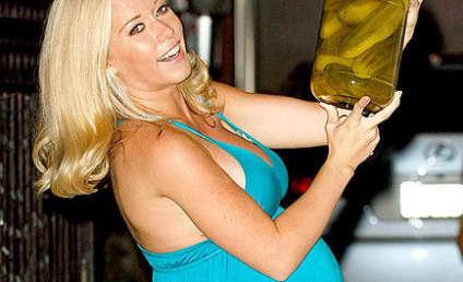Kendra Wilkinson Enjoys Pickles, Baby Shower