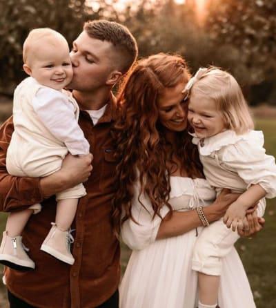 Audrey and Jeremy, 2 Kids