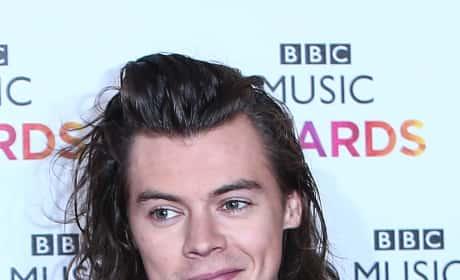 Sheepish Harry Styles