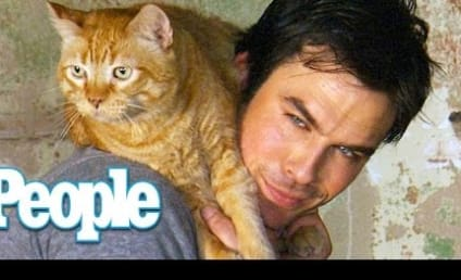 Ian Somerhalder Loves His Cat, Fans Love Him Even More