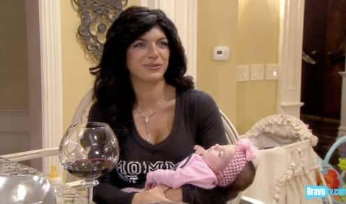 Teresa and Baby