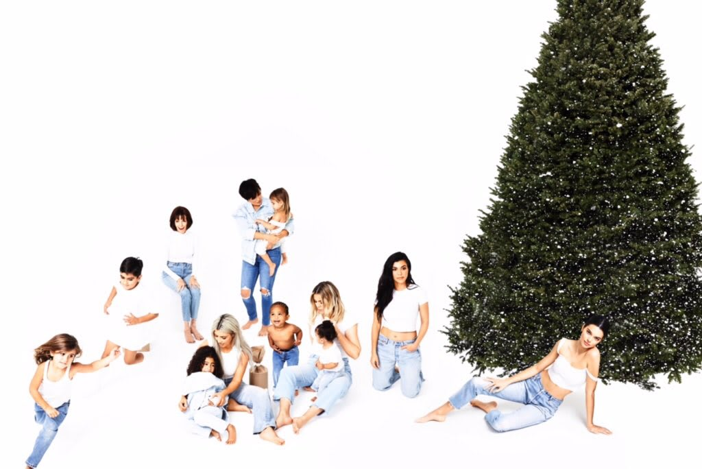 Kardashian Christmas Card: Unveiled! Controversial! - The Hollywood ...