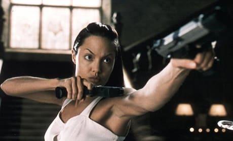 Angelina Jolie as Lara Croft