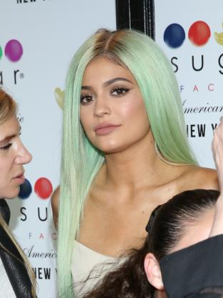 Kylie Jenner at a Grand Opening